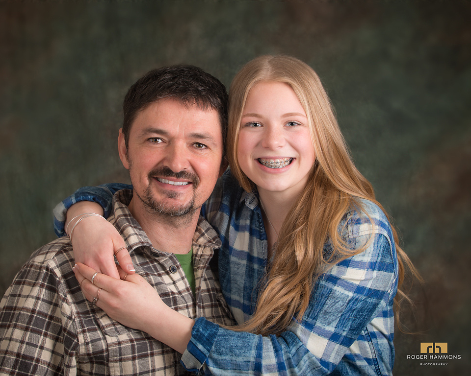 Father and Daughter Portrait | Northern Virginia Family Photographer