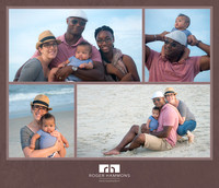 Beachside Family Portrait Session | Northern Virginia Family Photographer