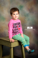 Toddler Pajama Portrait | Northern Virginia Portrait Photographer