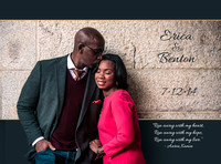 Sample Engagement Save-the-Date Cards | Northern Virginia Wedding Photographer