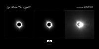 """Let There Be Light"" Eclipse Triptych"
